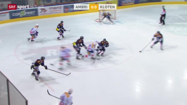 Video «Eishockey: NLA, Ambri - Kloten» abspielen