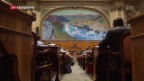 Video «Nationalrat stimmt dem Ausländergesetz zu» abspielen