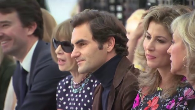Video «Roger Federer in Paris (unkomm.)» abspielen
