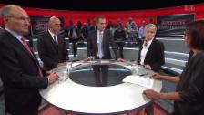 Video «Abstimmung-Arena: Eine Krankenkasse für alle?» abspielen