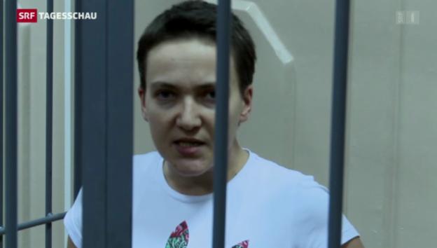 Video «Ukraines berühmteste Gefangene» abspielen