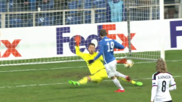 Video «Fussball: Europa League 2015/16, 6. Gruppenspiel, Lech Posen - FC Basel» abspielen
