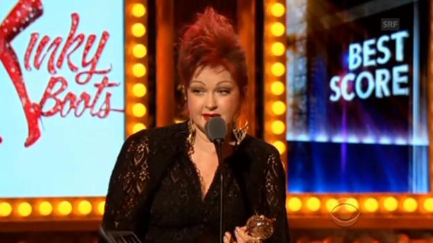 Video «Das waren die Tony-Awards 2013» abspielen