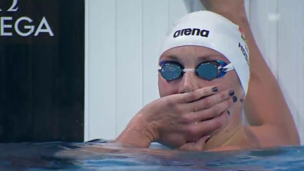Video «Schwimmen: WM 2015, Weltrekord 200 m Lagen Frauen» abspielen