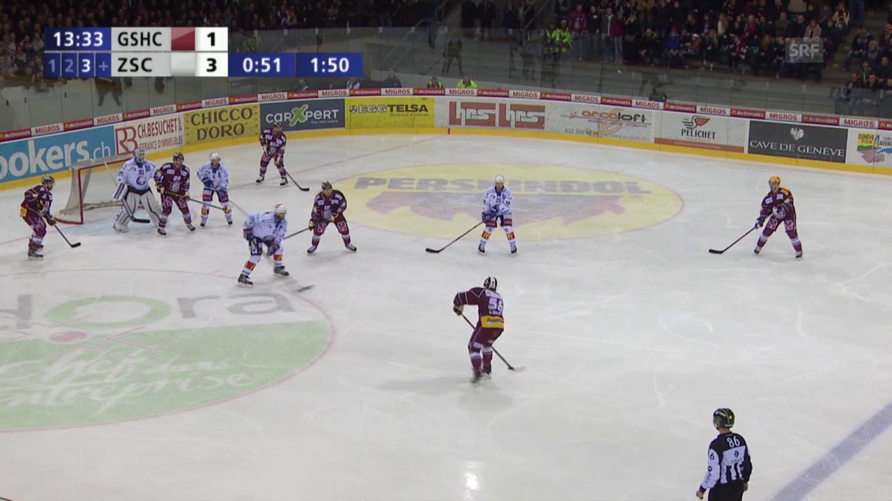 Eishockey: Genf-ZSC, dreifache Überzahl