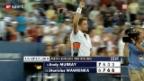 Video «Wawrinka schlägt Murray» abspielen
