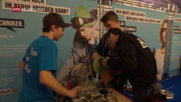 Laschar ir video «Fiutscher 2016 – là nua che firmas fan la curt a giuvnas e giuvens»