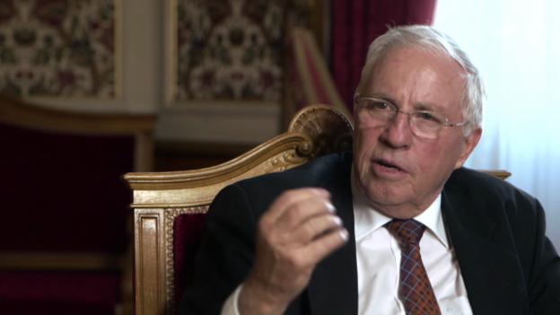 Video «Christoph Blocher über den Sonderfall Schweiz» abspielen