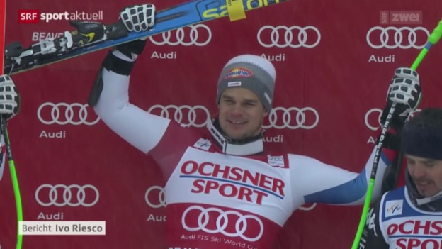 Video «Ski: Super-G Männer in Beaver Creek» abspielen