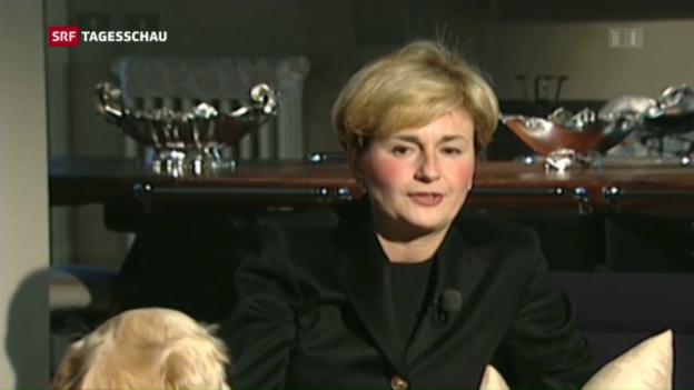 Video «Industrieministerin Italiens nach Skandal entlassen» abspielen