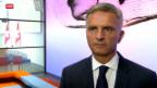 Video «Bundesrat legt Mandat für Verhandlungen mit der EU vor» abspielen
