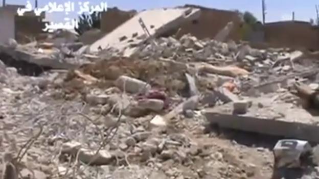 Video «Kämpfe in Kusair und Tripoli (Tagesschau 23.5.13)» abspielen