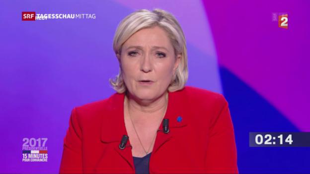 Video «Die Kandidaten äussern sich live» abspielen