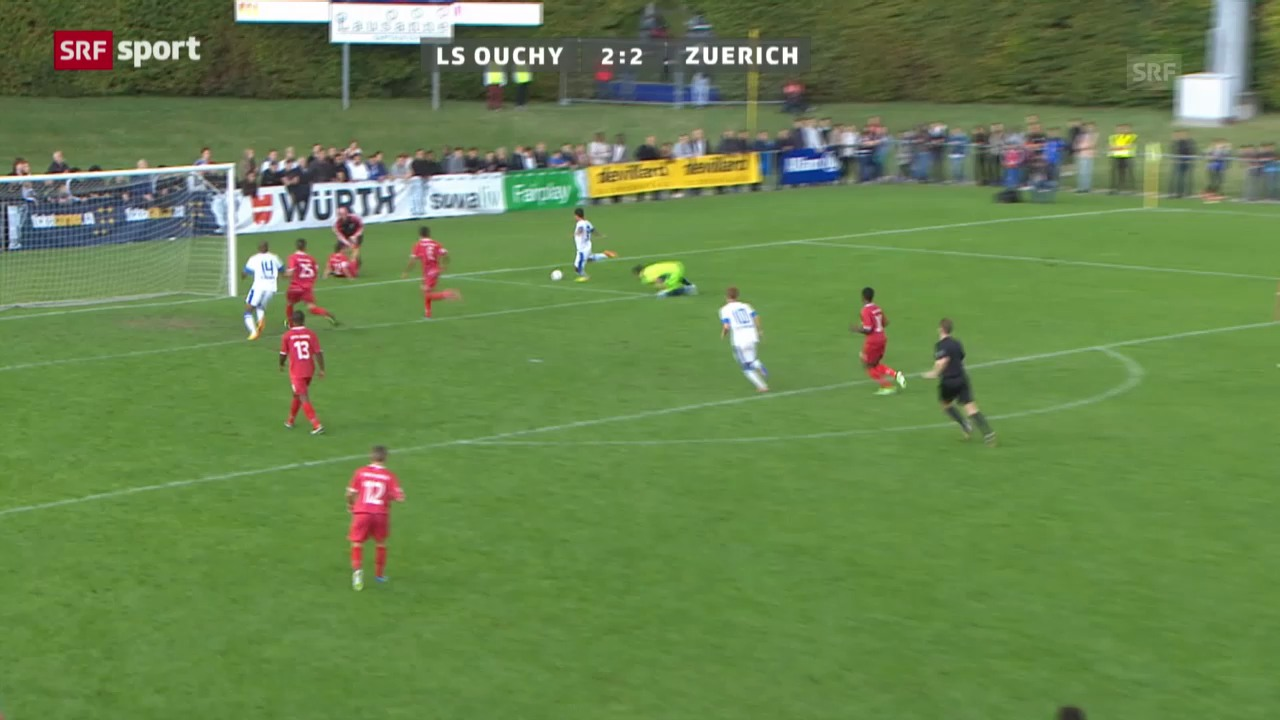Cup: LS Ouchy - FC Zürich