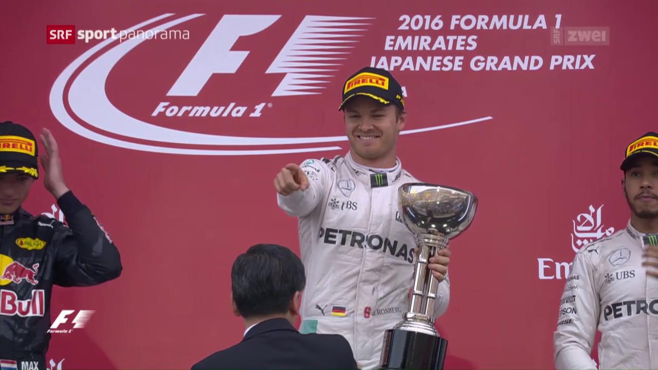 Rosberg siegt und baut WM-Führung aus