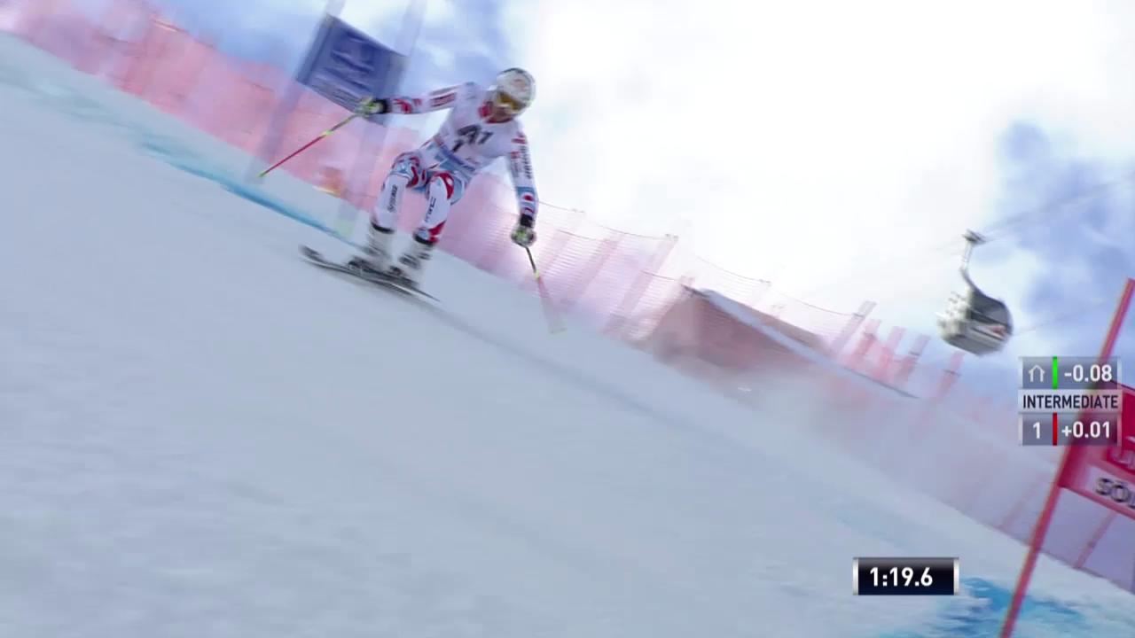 Ski alpin: 2. Lauf von Alexis Pinturault («sportlive»)