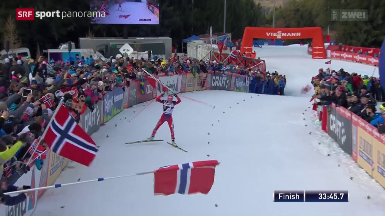 Johaug triumphiert bei Tour de Ski