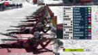 Video «Biathlon: Weltcup in Pokljuka, Massenstart» abspielen