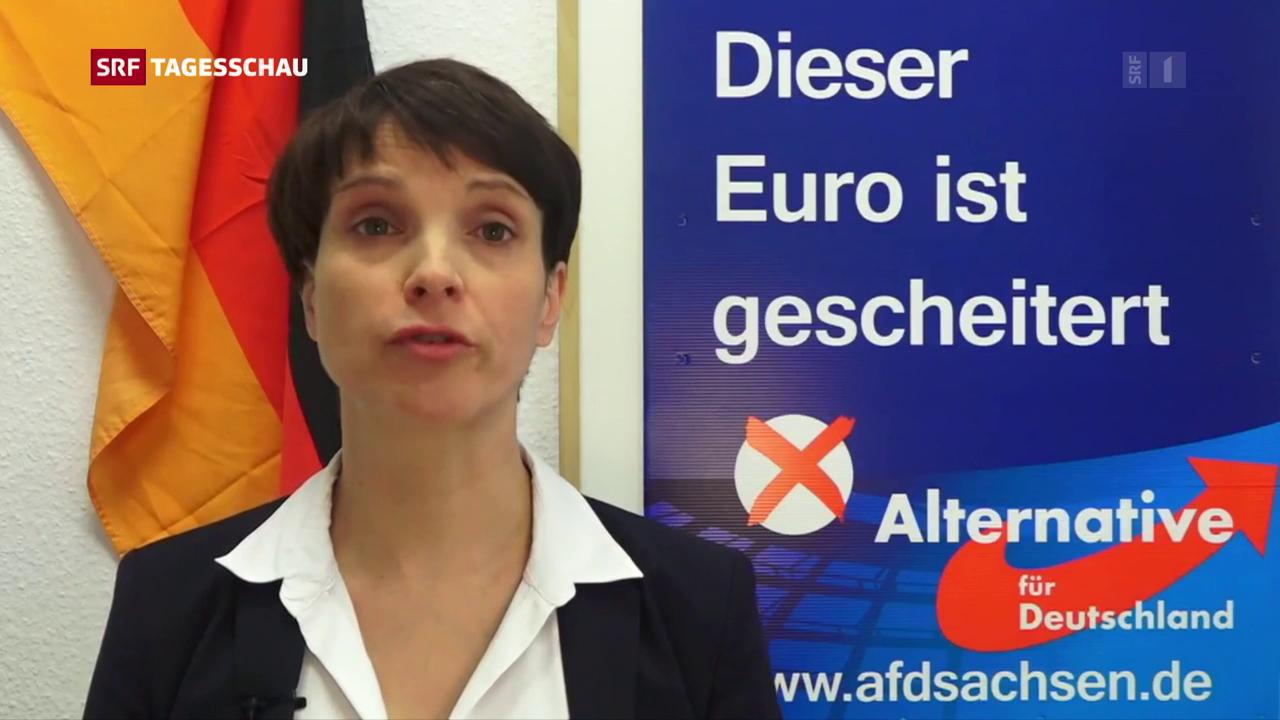 Frauke Petry verzichtet auf Spitzenkandidatur