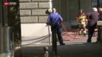 Video «Grosse Hektik beim Bundeshaus» abspielen