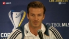 Video «David Beckham: Exklusivbilder des Stars rund um den Major League Soccer Final» abspielen