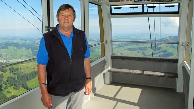 Auf Gondelfahrt mit Hans Büchler (16.07.2014)