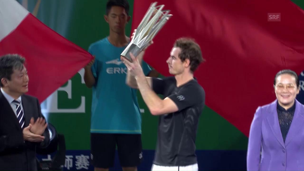 Andy Murray triumphiert in Schanghai