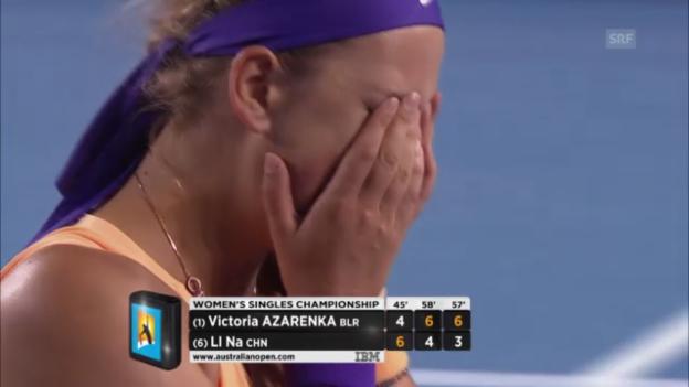 Video «Highlights Asarenka - Li» abspielen