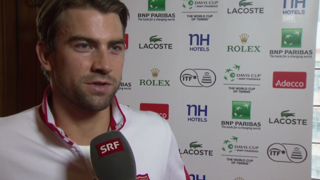 Video «Tennis: Interview mit Michael Lammer» abspielen