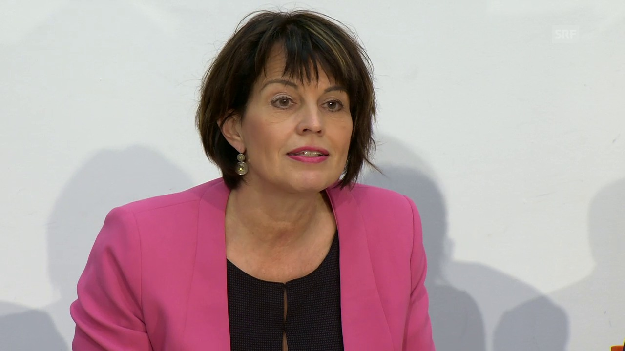 Bundesrätin Doris Leuthard zur «No Billag»-Initiative