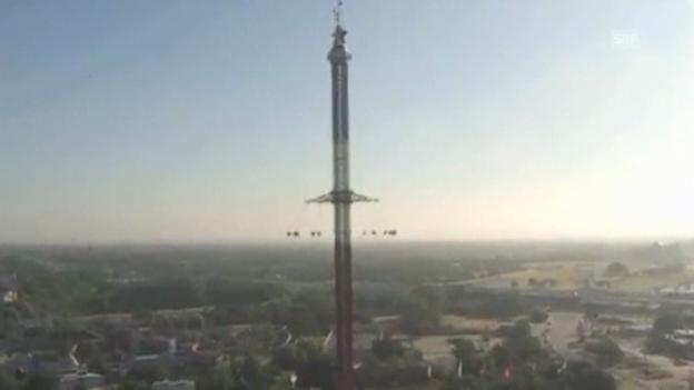 Video «Attraktion in luftiger Höhe (englisch)» abspielen