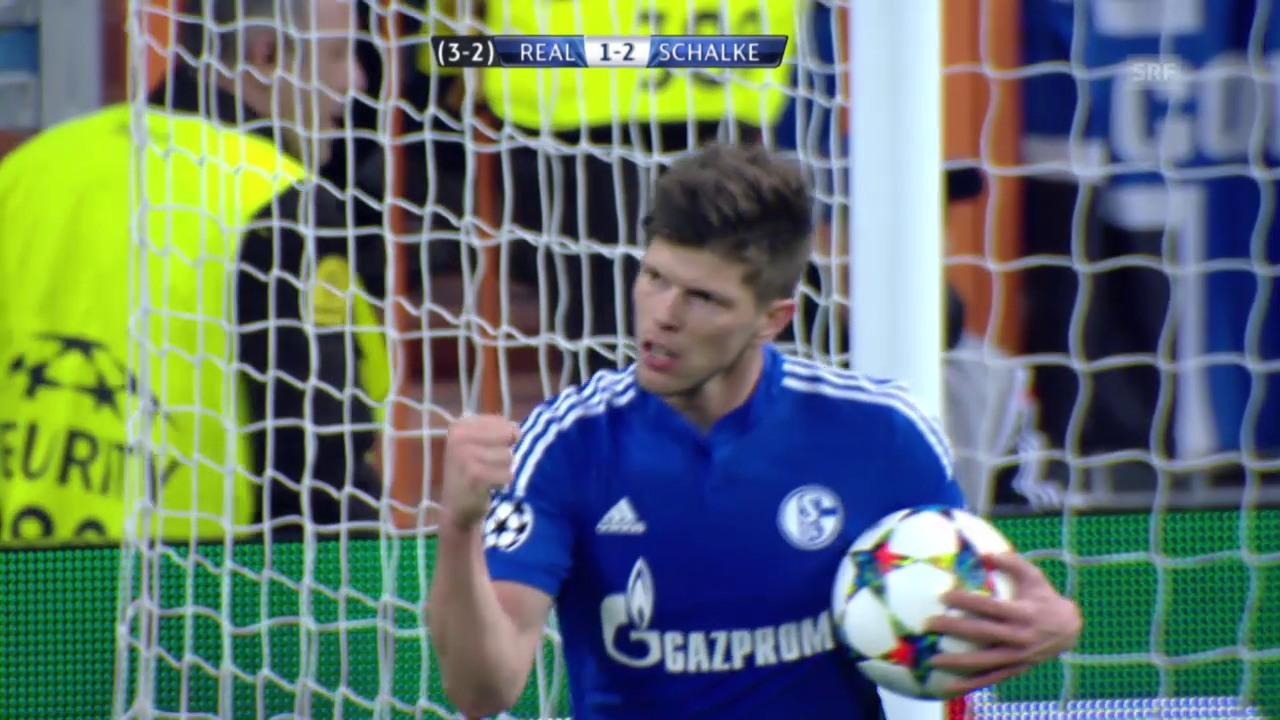 Fussball: CL, Real-Schalke