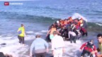 Video «Flüchtlingsgipfel in Brüssel» abspielen