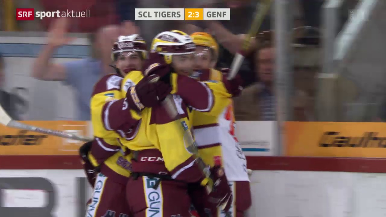 Eishockey: NLA, SCL Tigers - Genf
