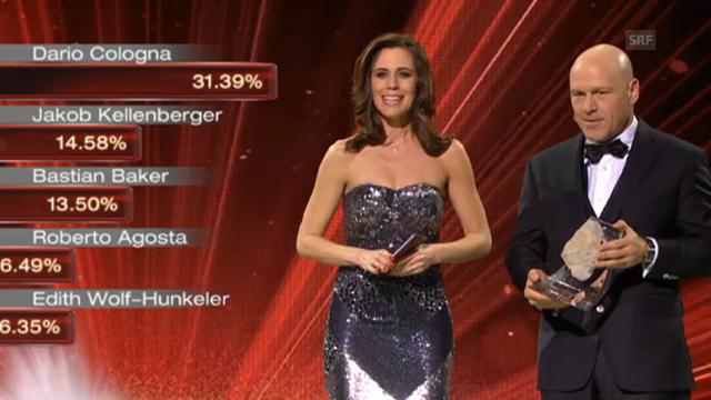Dario Cologna ist «Schweizer des Jahres» 2012
