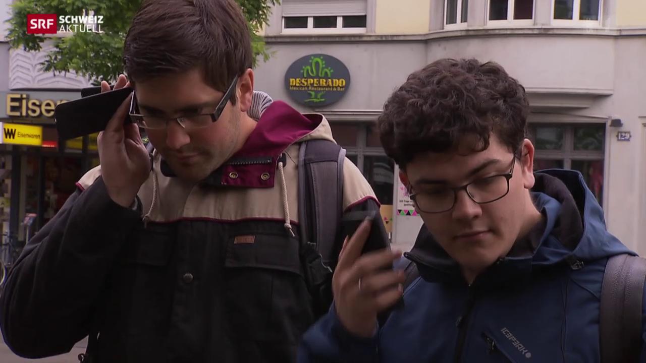 Blinde und Sehbehinderte «sehen» mit ihrem Smartphone