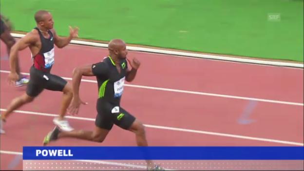 Video «Leichtathletik: Auch B-Probe von Asafa Powell positiv» abspielen