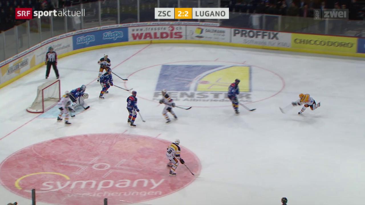 Eishockey: ZSC Lions - Lugano