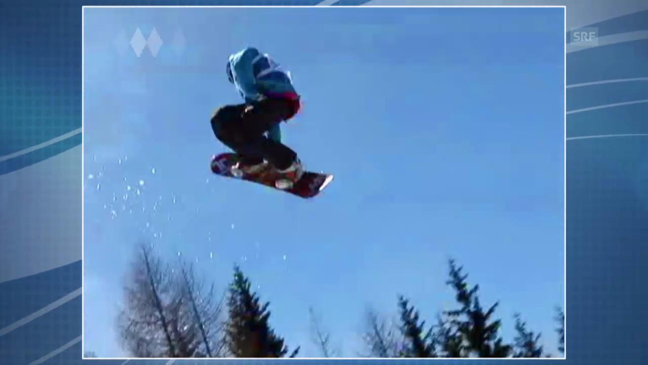 Sotschi: Erklärung Snowboard Slopestyle