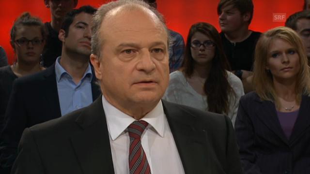 Leutenegger (FDP) glaubt, dass horrende Kosten auf den Bund zukommen.