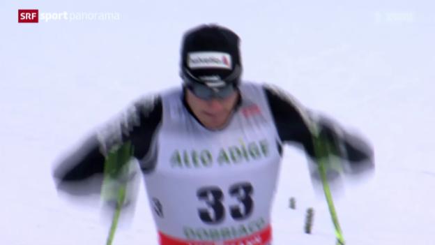 Video «Langlauf: Weltcup in Toblach» abspielen