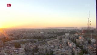 Video «Luftangriffe auf Aleppo vorläufig beendet» abspielen