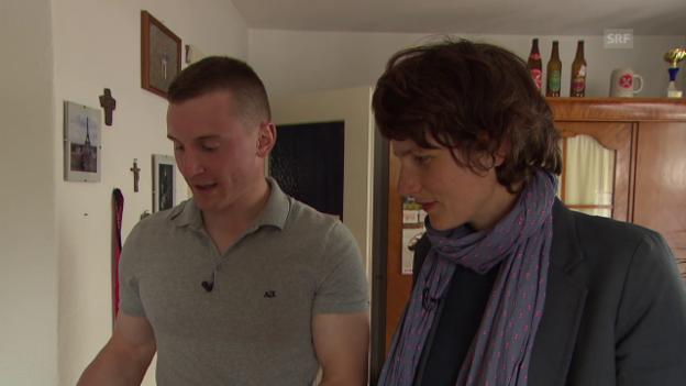 Video «Zu Besuch bei Gardist Peter Roth» abspielen