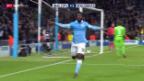 Video «Fussball: Champions League, Zusammenfassung Manchester City-Gladbach» abspielen
