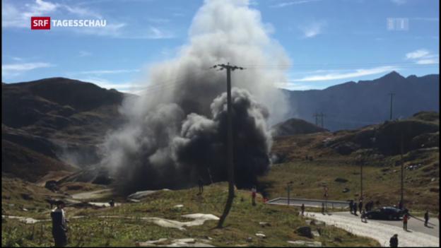 Video «Helikopterabsturz über dem Gotthard» abspielen