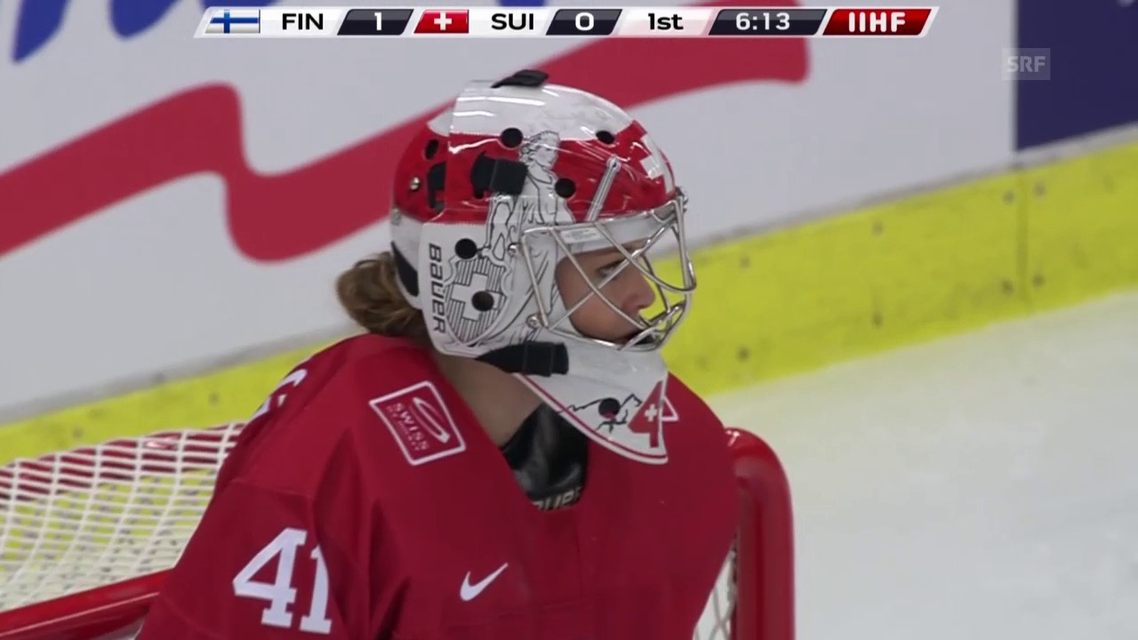 Eishockey: WM der Frauen in Malmö, Viertelfinal, Finnland - Schweiz