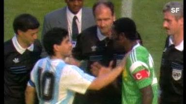 WM-Überraschungen: 1990 - Kamerun