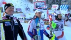 Video «Ski: Superkombination Wengen» abspielen