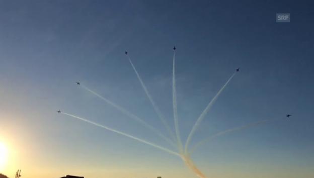 Video «Patrouille Suisse am ESAF» abspielen