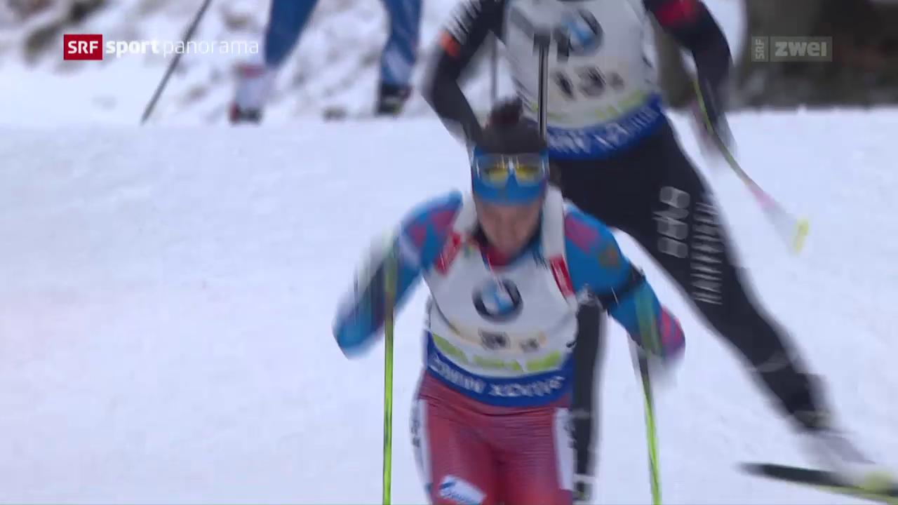 Schweizer Biathleten überzeugen